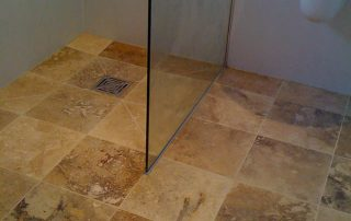 Wet Room Large Tiled Floor